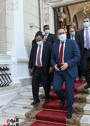 رئيس الوزراء بمؤتمر صحفى مع نظيره السودانى (2)