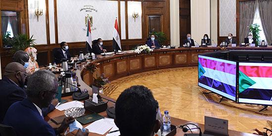 رئيس الوزراء بمؤتمر صحفى مع نظيره السودانى (5)
