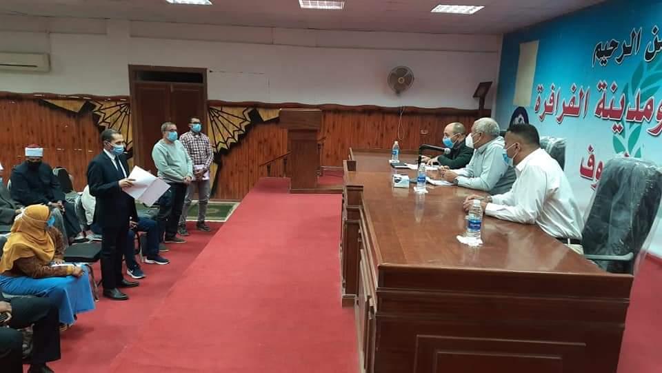 لقاء المسئولين لمتابعة مبادرة حياة كريمة (4)