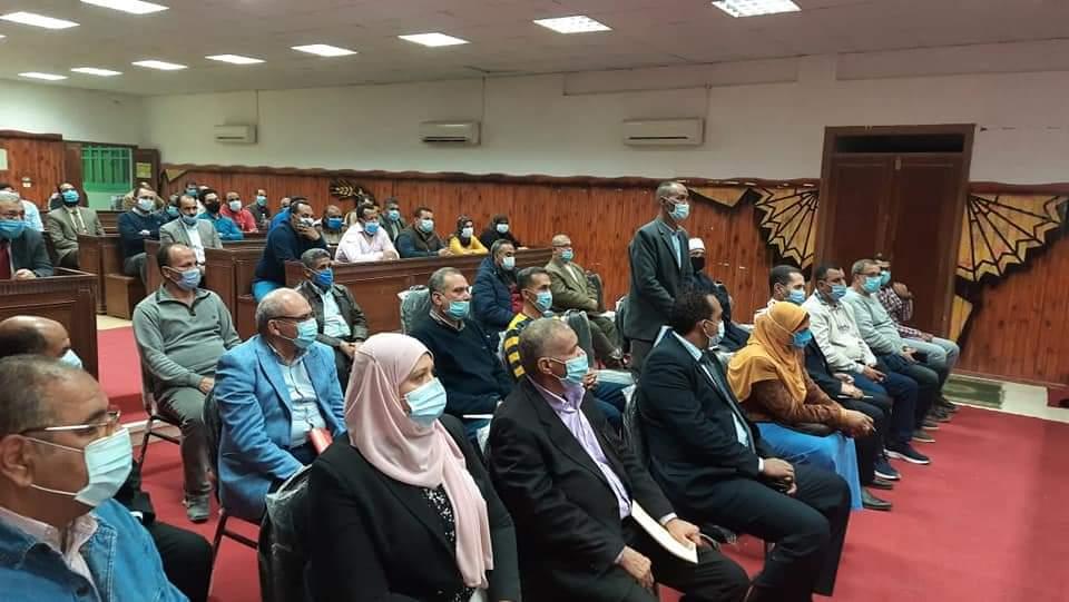لقاء المسئولين لمتابعة مبادرة حياة كريمة (5)