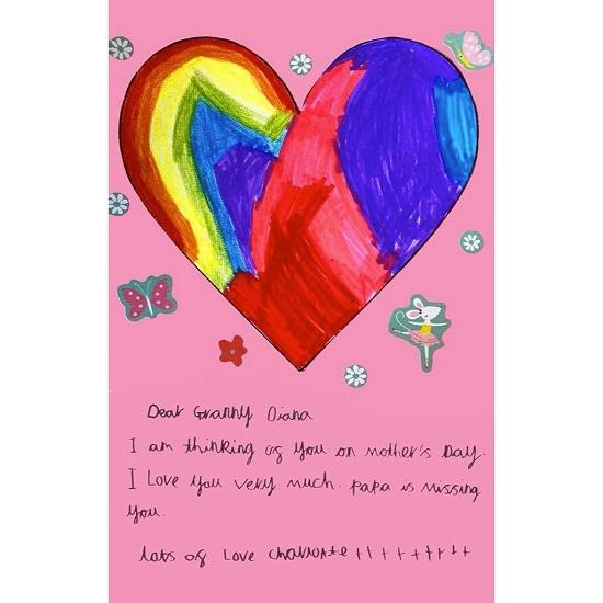 أبناء كيت ووليام يوجهون رسائلهم لديانا في عيد الأم (4)