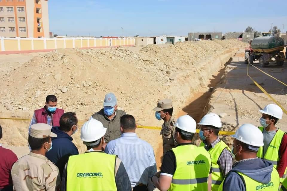 مشروعات تتم على أرض الواقع بمنطقة الفرافرة (4)