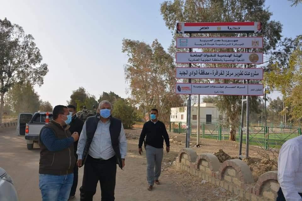 زيارة المحافظ والمسئولين لمواقع التطوير  (4)
