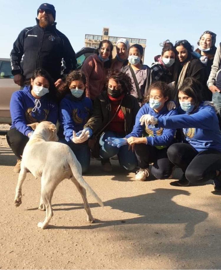 فريق للتوعية بالرفق بالحيوانات