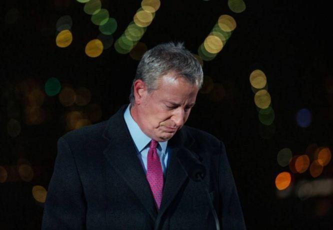 تأثر رئيس بلدية نيويورك