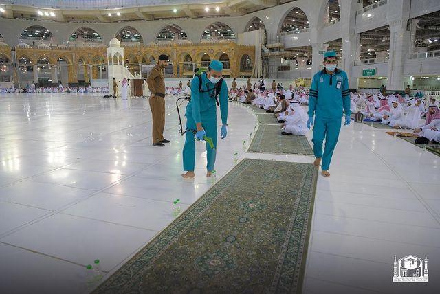 تعقيم المسجد الحـرام