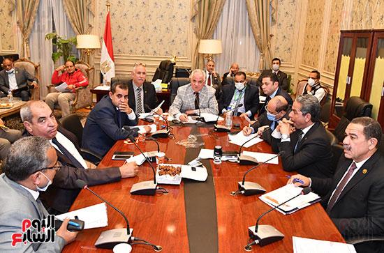 اجتماع لجنة الزراعة والري  (1)