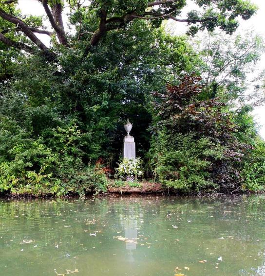 قبر الاميرة ديانا
