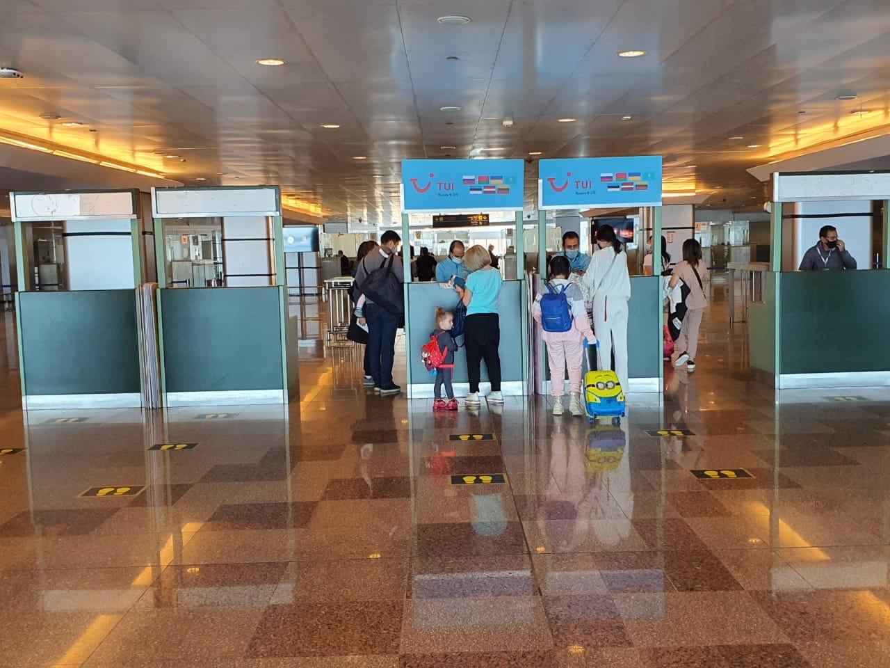 الغردقة تستقبل اول رحلة كازاخستانية