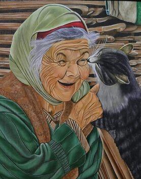 لوحة فنية من انطون