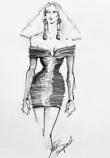 تصميم فستان بيونسيه
