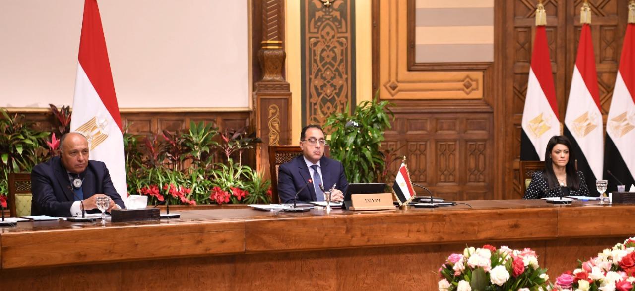 رئيس الوزراء يشارك فى جلسة الحوار الاستراتيجي التي نظمها منتدى دافوس  (5)
