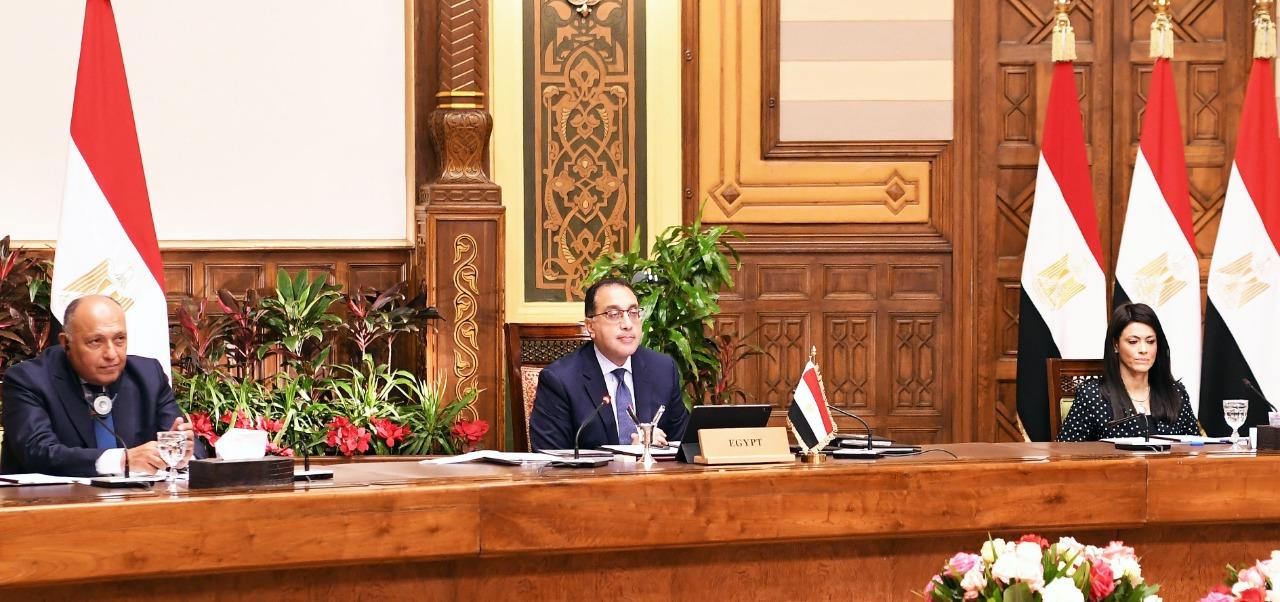 رئيس الوزراء يشارك فى جلسة الحوار الاستراتيجي التي نظمها منتدى دافوس  (6)