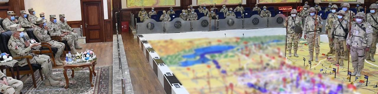 الفريق محمد فريد رئيس أركان حرب القوات المسلحة (2)