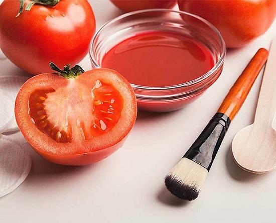 وصفات طبيعية للبشرة من الطماطم