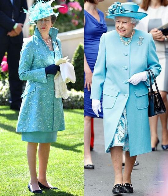 7 اطلالات متشابهة جمعت النساء الملكيات بأمهاتهم (2)