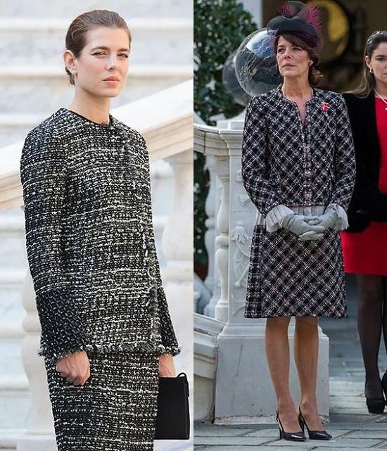 7 اطلالات متشابهة جمعت النساء الملكيات بأمهاتهم (3)