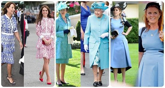 7 اطلالات متشابهة جمعت النساء الملكيات بأمهاتهم (10)
