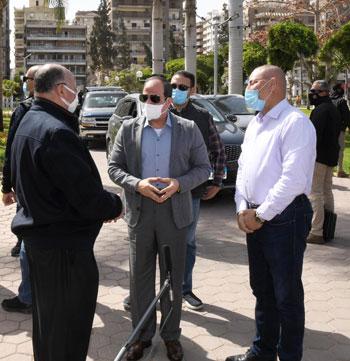 الرئيس-يتفقد-تطوير-شبكة-الطرق-بالقاهرة