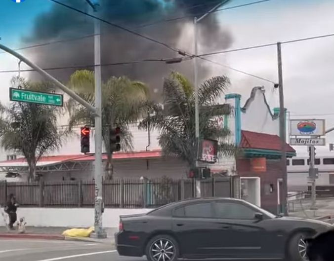 اثار الانفجار