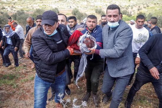 استشهاد فلسطيني (2)