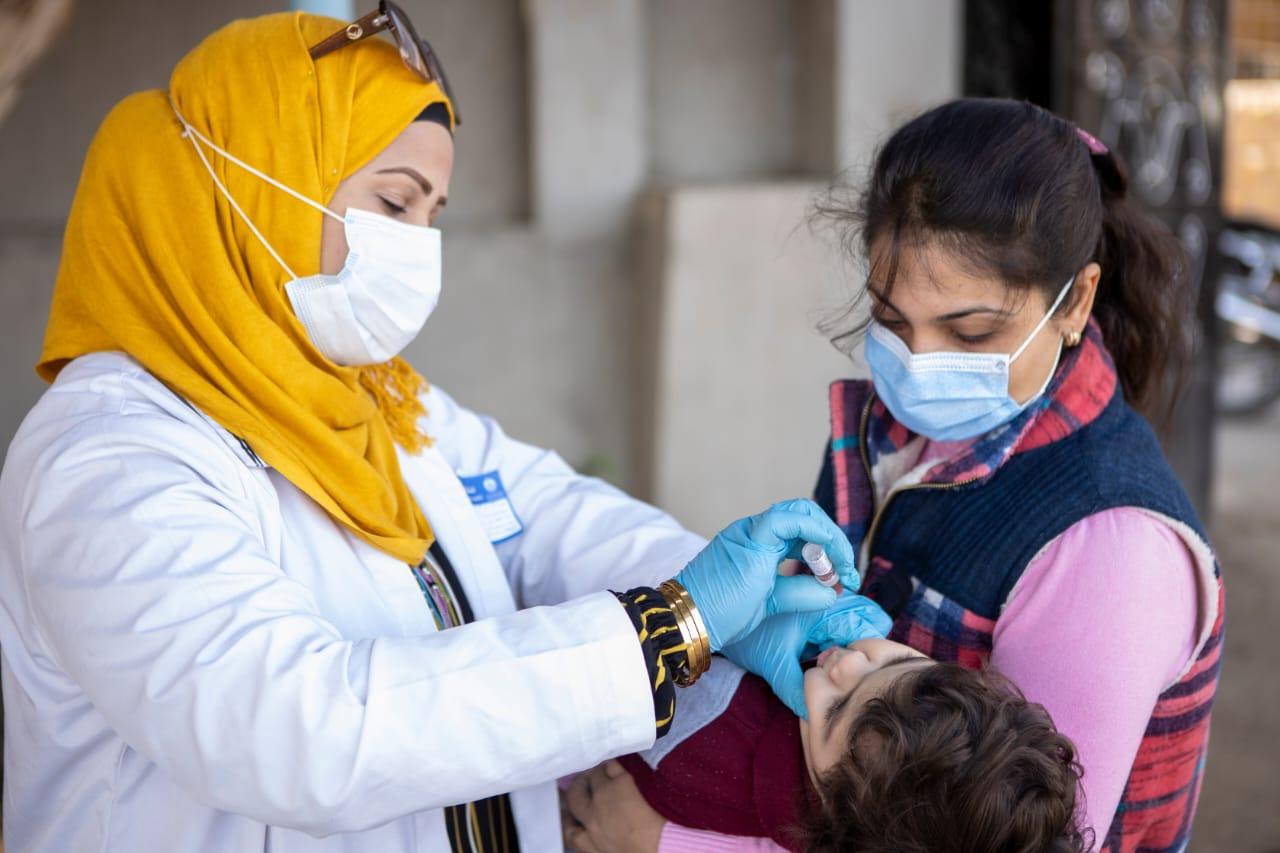 تطعيم 13 مليون و606 ألف طفل