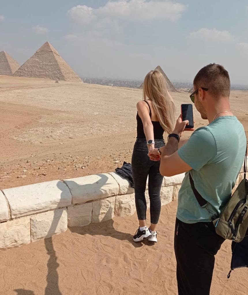 جانب من الرحلة السياحية