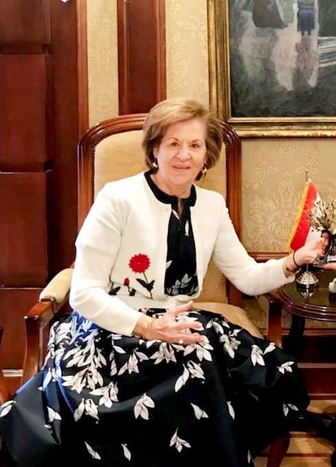 كاترين صوفيانو -سيدة الأعمال المصرية اليونانية