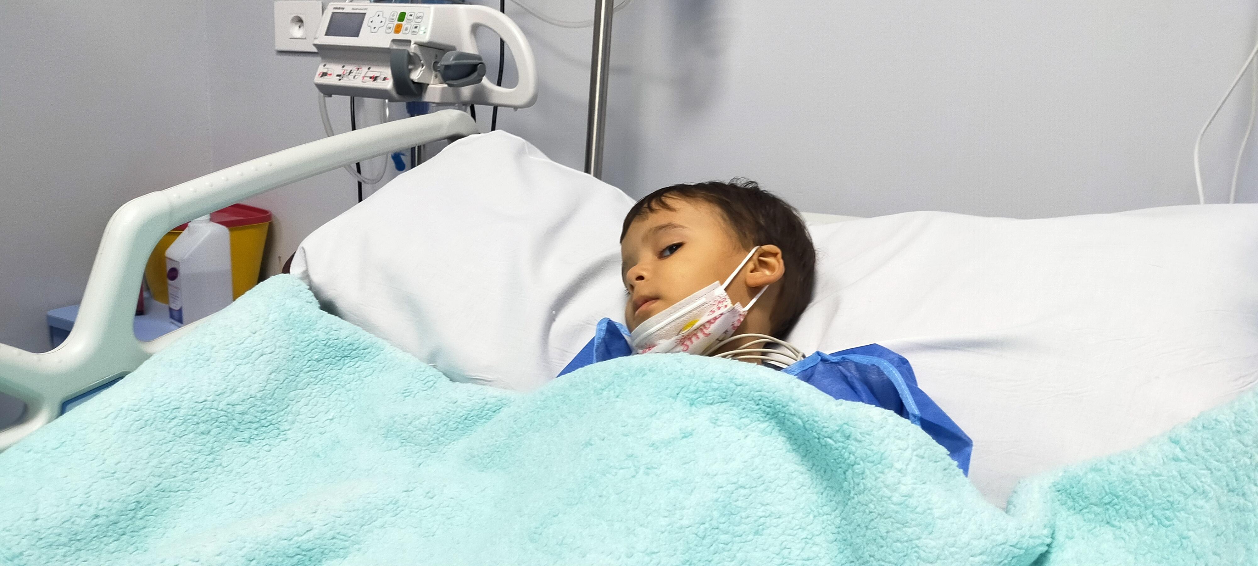 الطفل ريان بعد العملية