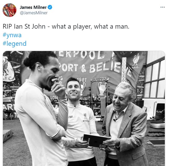 جيمس ميلنر على تويتر