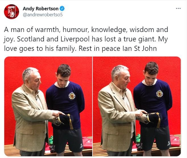 روبتسون على تويتر