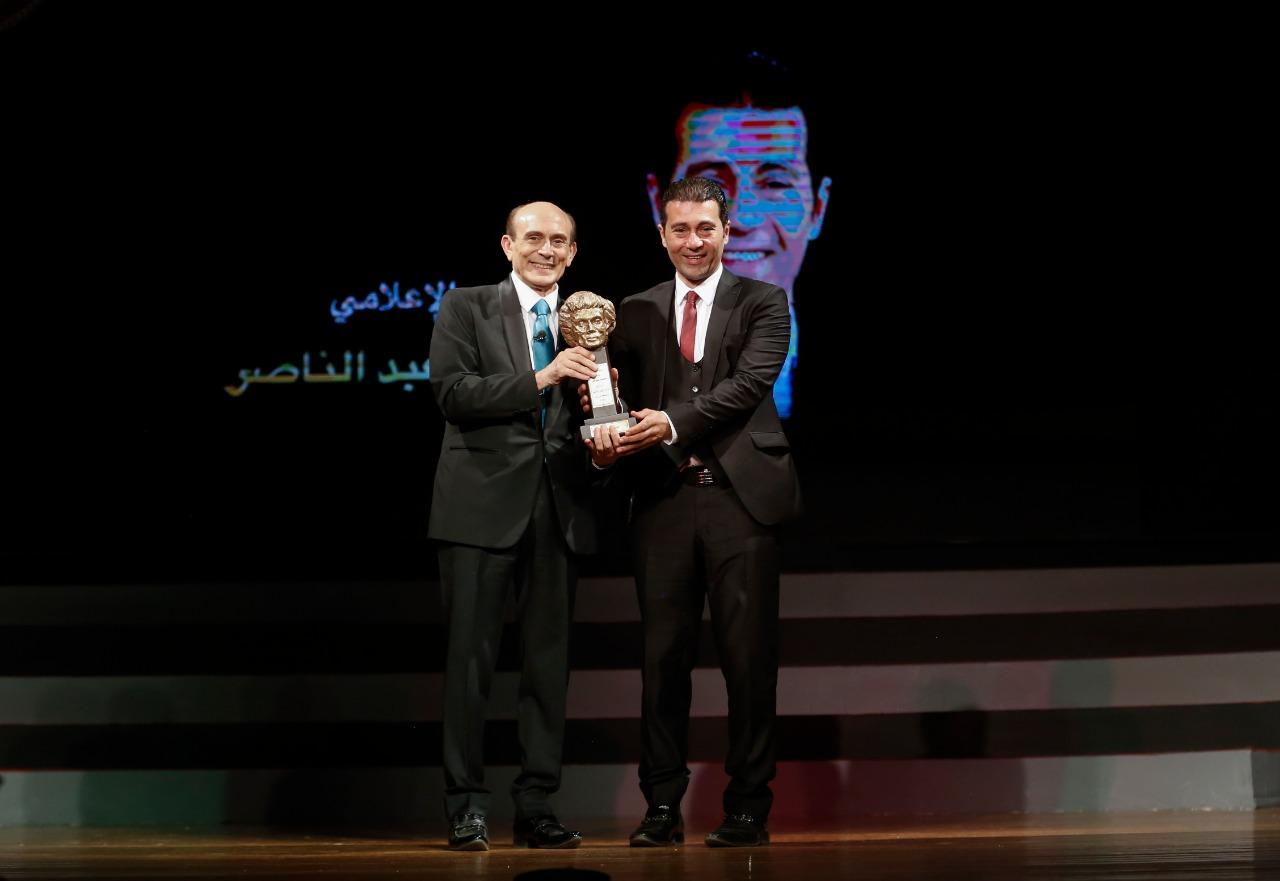 الأستاذ محمد صبحي في احتفالية 50 سنة فن