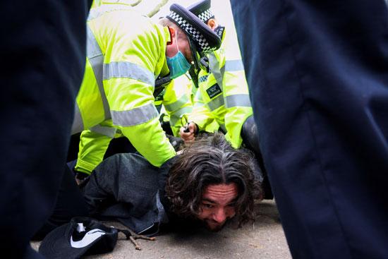 مظاهرات بريطانيا  (2)