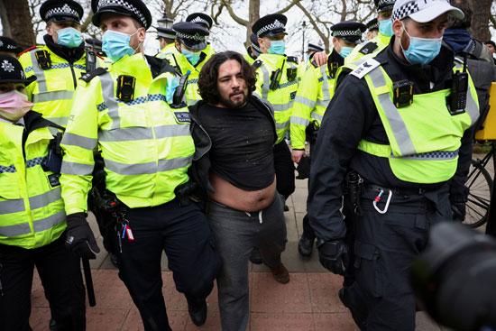 مظاهرات بريطانيا  (3)