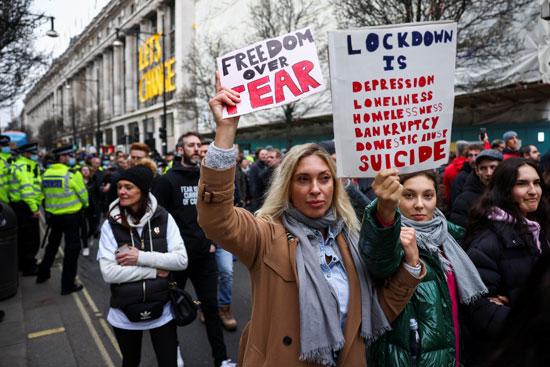 مظاهرات بريطانيا  (1)