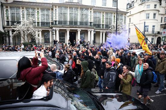 مظاهرات بريطانيا  (5)