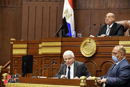 الجلسة العامة لمجلس الشيوخ (3)