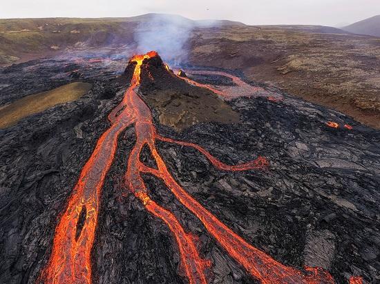 ثوران البركان