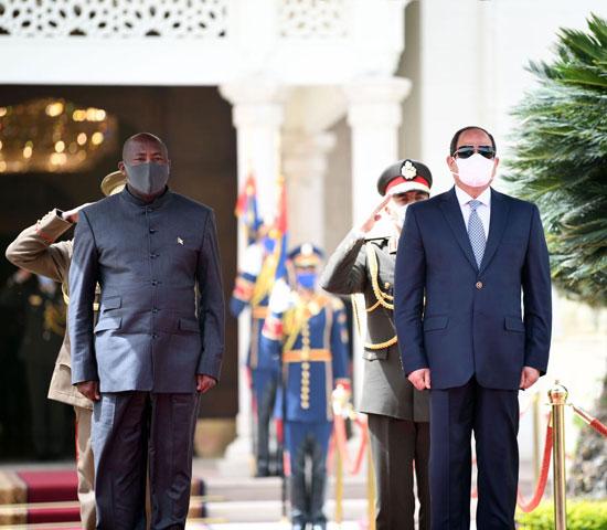 الرئيس السيسى ورئيس بورندى (1)