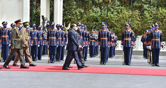 الرئيس السيسى ورئيس بورندى (2)