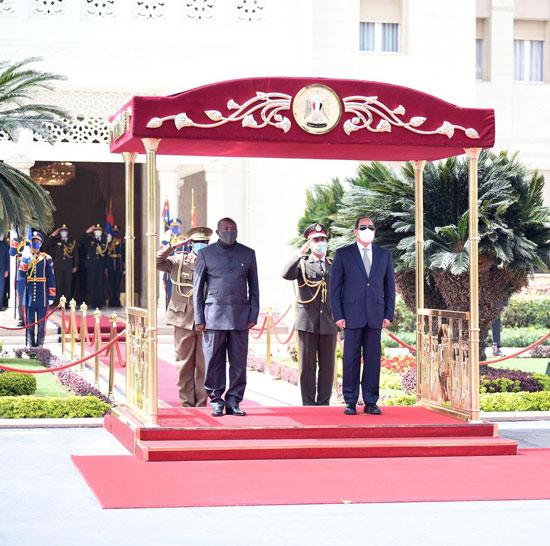 الرئيس السيسى ورئيس بورندى (4)