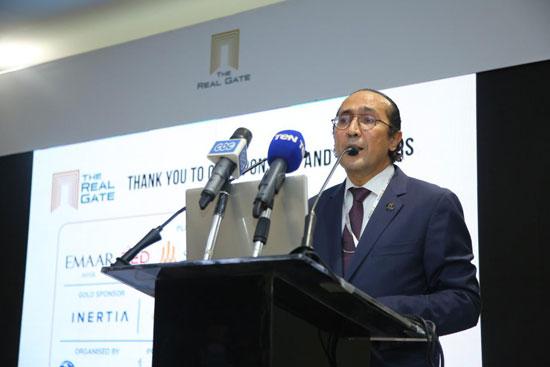 أحمد غزي رئيس شركة إيه سي جي أي تي إف