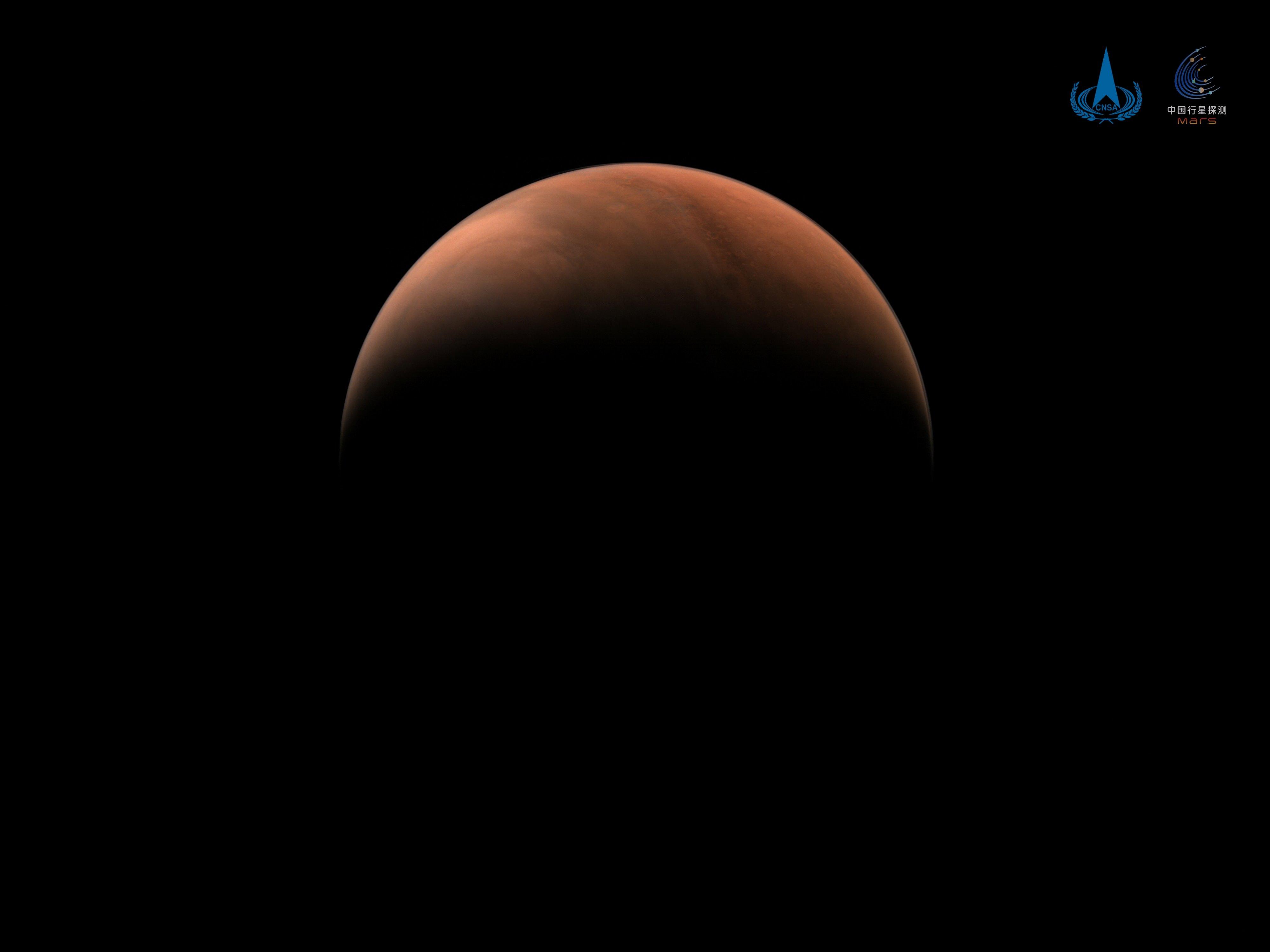 كوكب المريخ من الظل