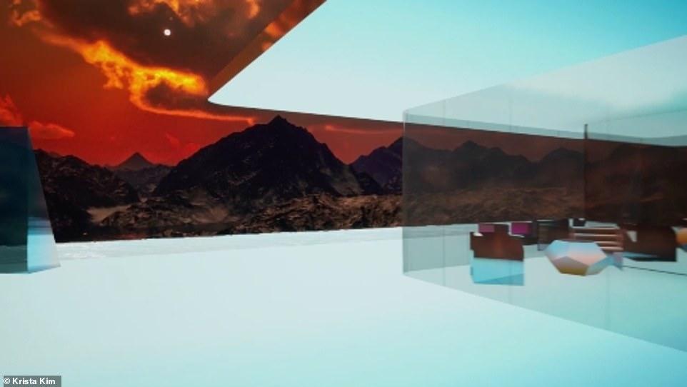 منزل المريخ الرقمى