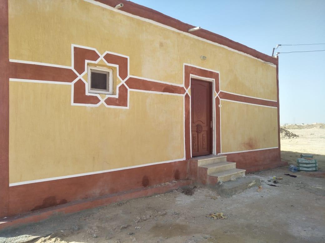 انشاء ورتطوير مساكن اهالي قرى حياة كريمة في مطروح