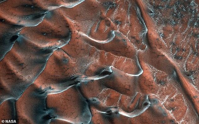 صورة المريخ الجديدة