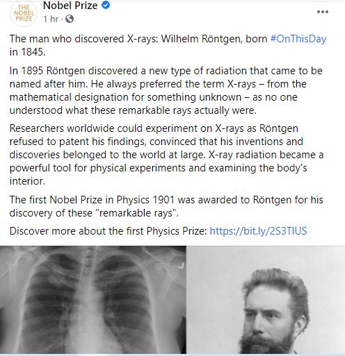 نوبل تحتفل بذكرى ميلاد مخترع الفيزياء