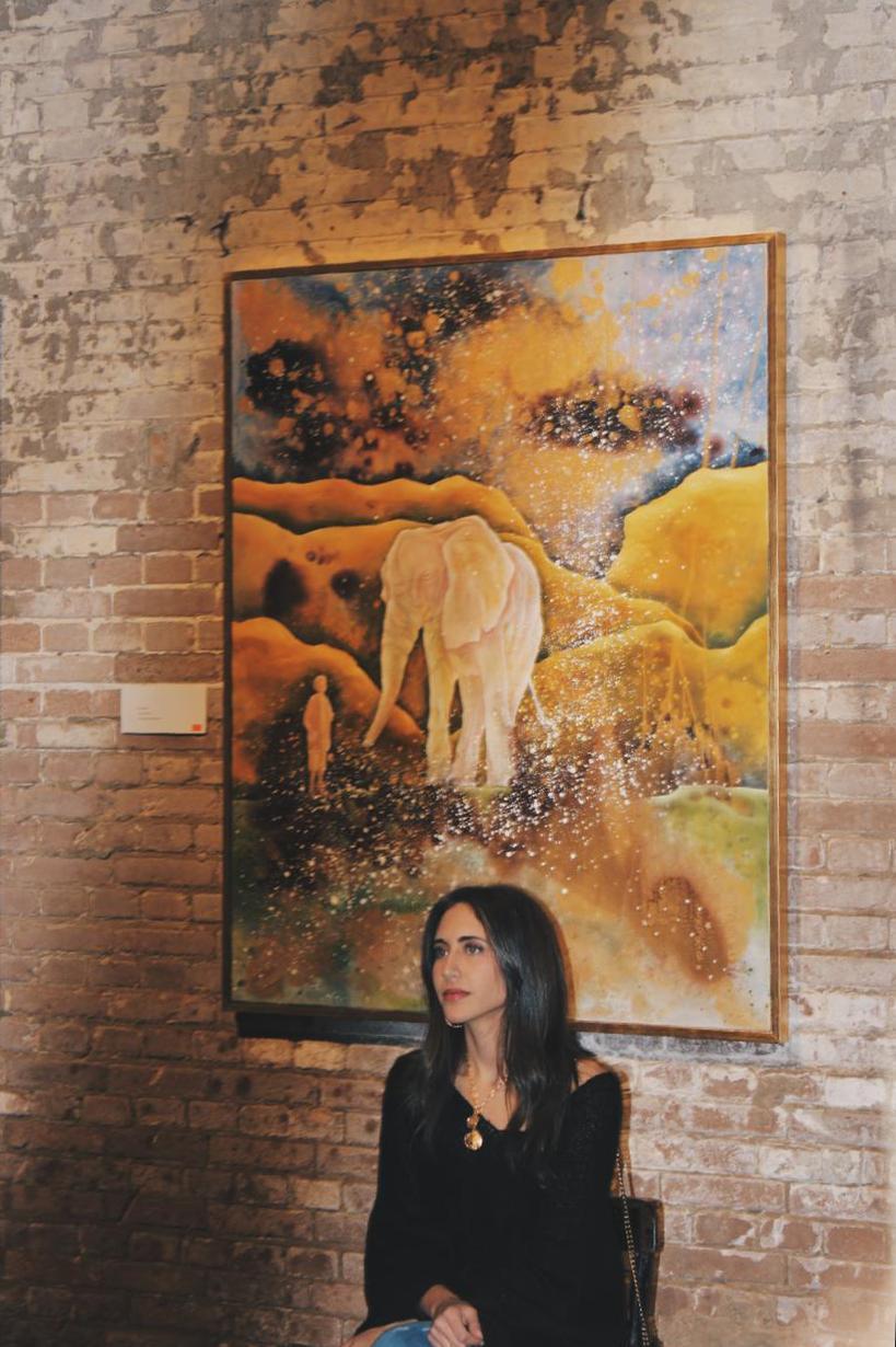 معرض الفنانة نادين الرشيدى (5)