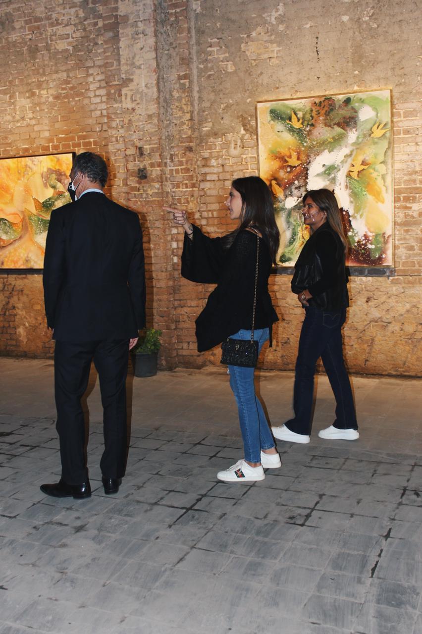 معرض الفنانة نادين الرشيدى (2)