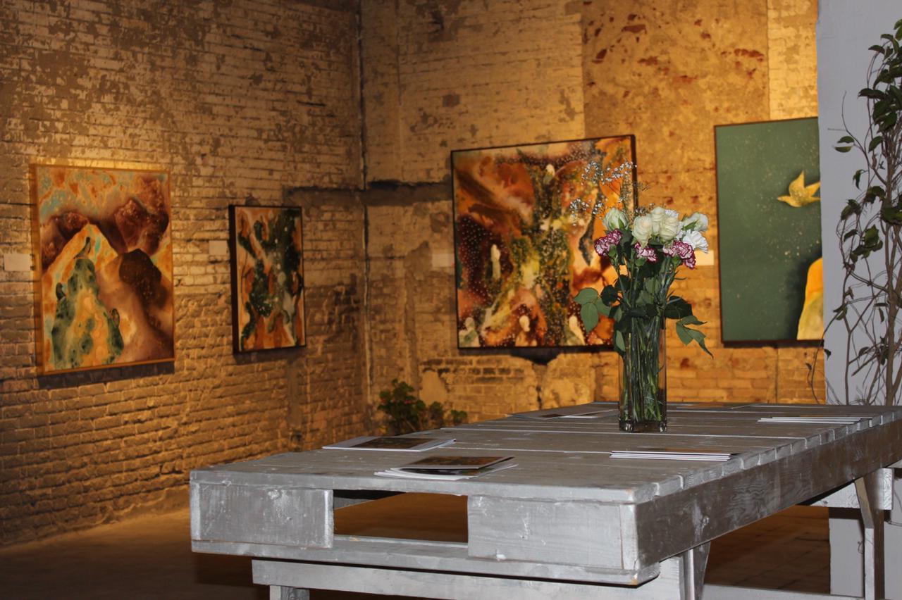 معرض الفنانة نادين الرشيدى (4)
